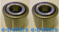 PAIR 75x60x35 TRAILER BEARING FOR IFOR WILLIAMS 1992-96-SKF13 T1 2568 P 00001